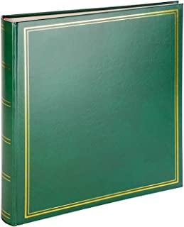 Album Photo Scrapbooking Traditionnel Vert - Facile à Utiliser & Durable Livre Photo Vierge Avec 100 Pages pour Personnali...
