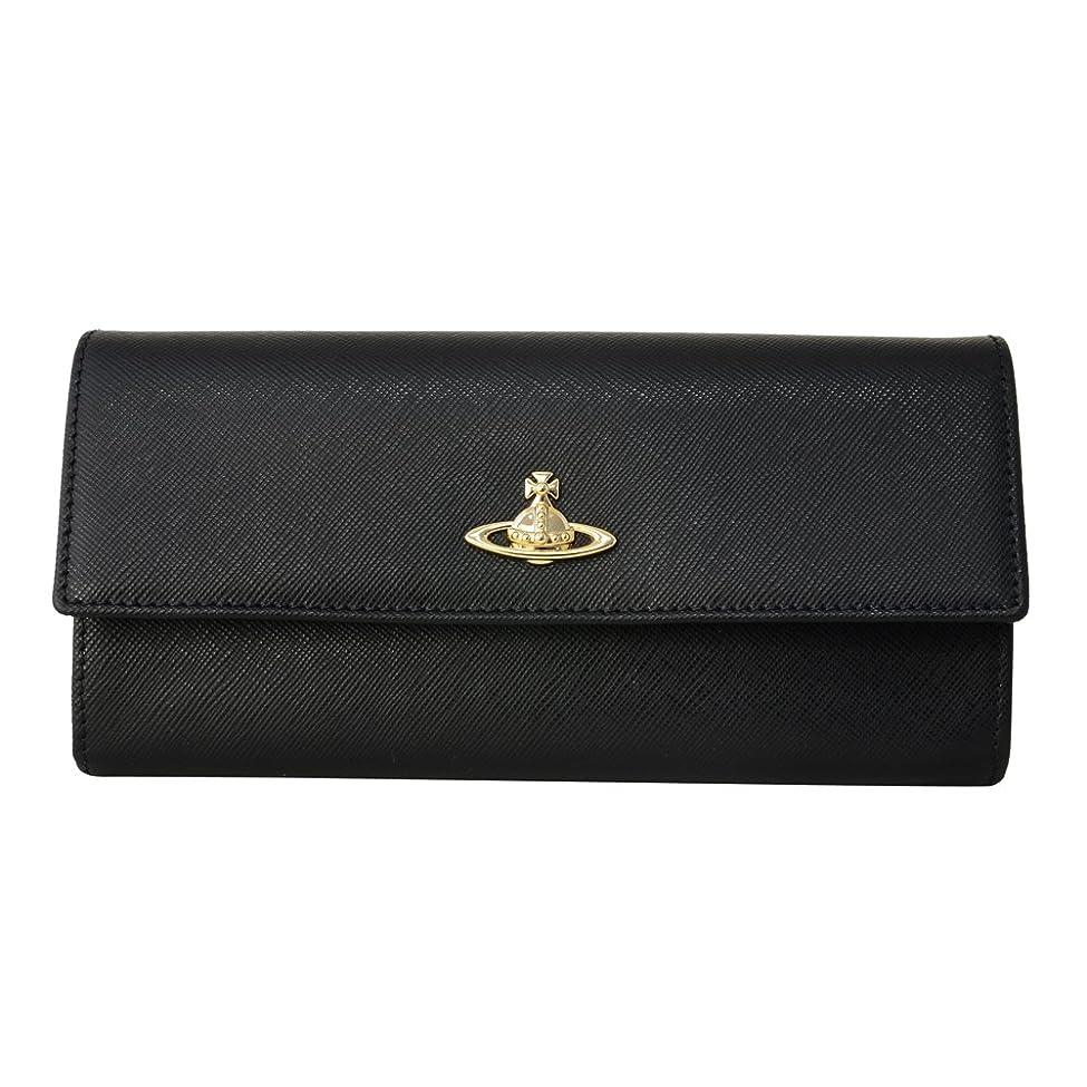 保険をかける下向き市町村[ヴィヴィアンウエストウッド] Vivienne Westwood ヴィヴィアンウエストウッド 長財布 VWW 321522 二つ折り長財布 かぶせ蓋 フラップ ウォレット OPIO SAFFIANO BLACK ブラック 黒 [並行輸入品]