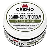 Cremo Beard & Scruff Cream, Improved Forest Blend Fragrance, Moisturizes, Styles And Reduces Beard...