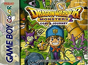 Dragon Warrior Monsters 2 - Cobi's Journey GBC Instruction Booklet (Nintendo Gameboy Color Manual ONLY - NO GAME) Pamphlet - NO GAME INCLUDED