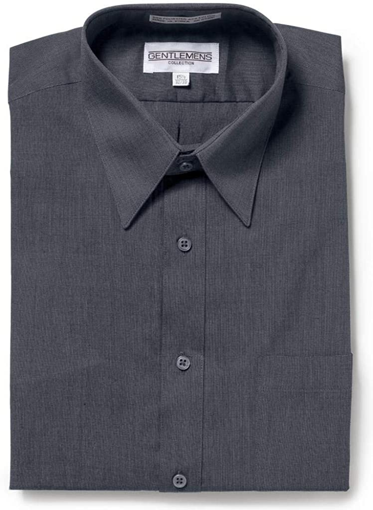 Gentlemens Collection Mens Long or Short Max 71% OFF Br - Dress Sleeve Shirt Soldering