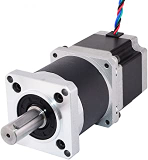STEPPERONLINE 50:1 Nema 23 Geared Stepper Motor L=56mm High Precision Planetary Gearbox for 3D Printer DIY CNC