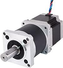 STEPPERONLINE Nema 23 Geared Stepper Motor L=56mm Gear Ratio 10:1 High Precision Planetary Gearbox for 3D Printer CNC Robot