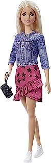 """Barbie GXT03 - """"Bühne Frei für große Träume"""" Barbie Malibu Puppe (ca. 30 cm groß, blond) mit Jacke, Rock und Zubehörteile..."""
