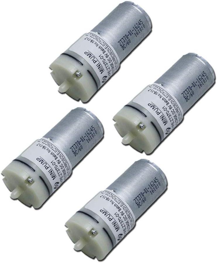 Mini Luftpumpenmotor Dc 6 V Für Sauerstofftank Zirkulierend 370 Mikro Luftpumpe Für Blutdruckmessgerät 4 Stück Sport Freizeit