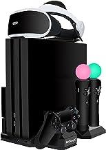 Aggiornata ieGeek Supporto di Ricarica PSVR, [Tutto-In-1] PS4 Pro / PS4 Slim / PS4 Supporto Verticale per PlayStation VR, ...