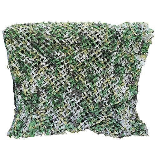 JU FU Outdoor Langlebig Tarnnetz, 210D Oxford Stoff Woodland Digital Camouflage Army Green Übung Ausschreibung Ausschreibung Sicherheitsnetz, 10 Größen (Größe kann angepasst Werden) @@
