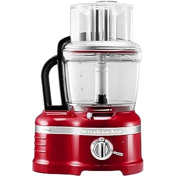 KitchenAid 5KFP1644 - Robot de cocina (Rojo, Transparente, 13,6 kg, 30,4 cm, 24,8 cm, 50/60 Hz, 220-240V): Amazon.es: Hogar