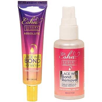 Esha Lace Wig Adhesive Glue (Strong Hold) + Adhesive Remover Set