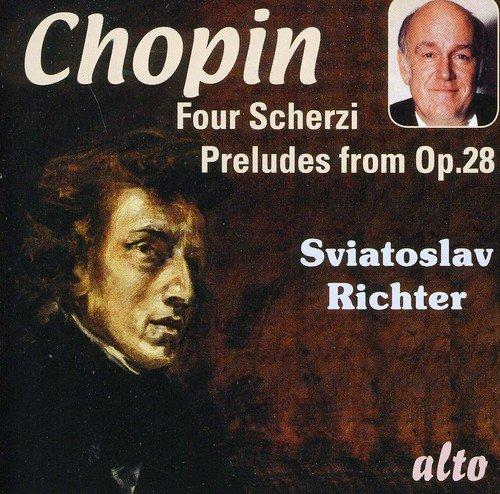 Chopin : 4 Scherzi - Préludes Op. 28. Richter.