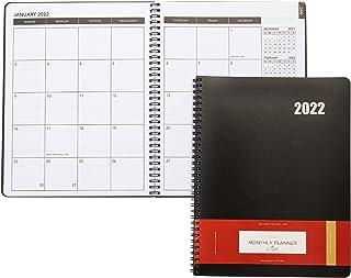 $21 » Sponsored Ad - Delane Monthly Planner 2022 - 18 Month Academic Planner – Spiral Bound Month Planner Appointment Book – Sch...