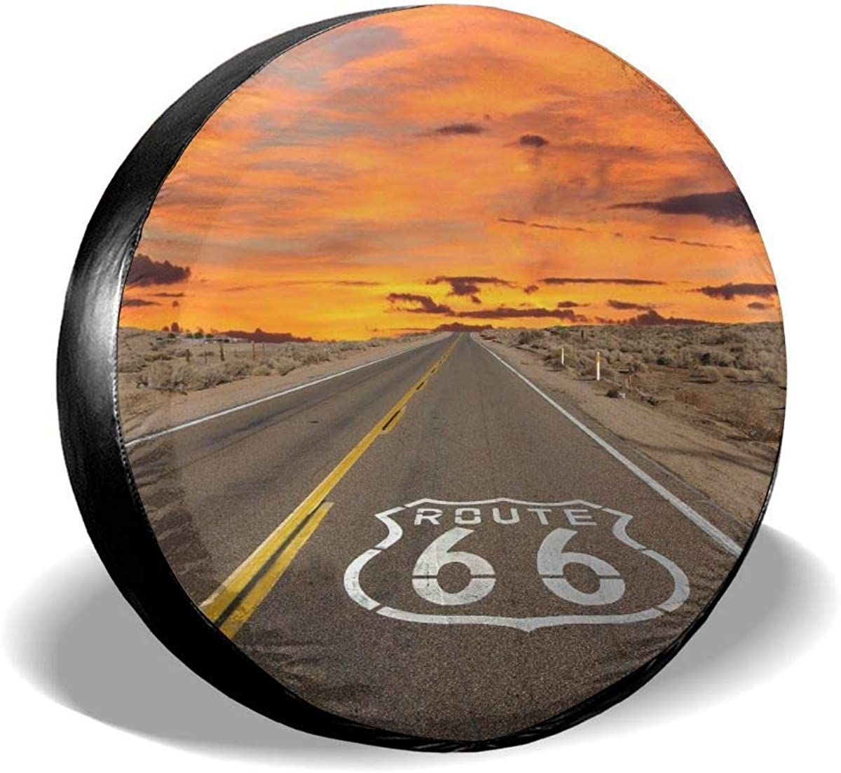 Ding Famous Us Route NEW before selling ☆ 66 Spare Cover Tire W Waterproof Dust-Proof Bombing free shipping