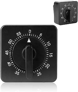 Kitchen Timer No Batteries Mechanical Timer Countdown 60 Minute 1 Hour Egg Timer Digital Timer for Cooking, Baking, Meetin...