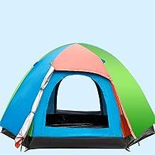 RFVBNM Camping Zelt Campingplatz automatisch Zelten schnell paar 3-4 Personen outdoors Sonne Schutz Schutz Regen Campen mit T/üren