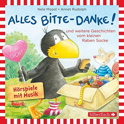 Page de couverture de Alles Bitte-Danke! und weitere Geschichten vom kleinen Raben Socke
