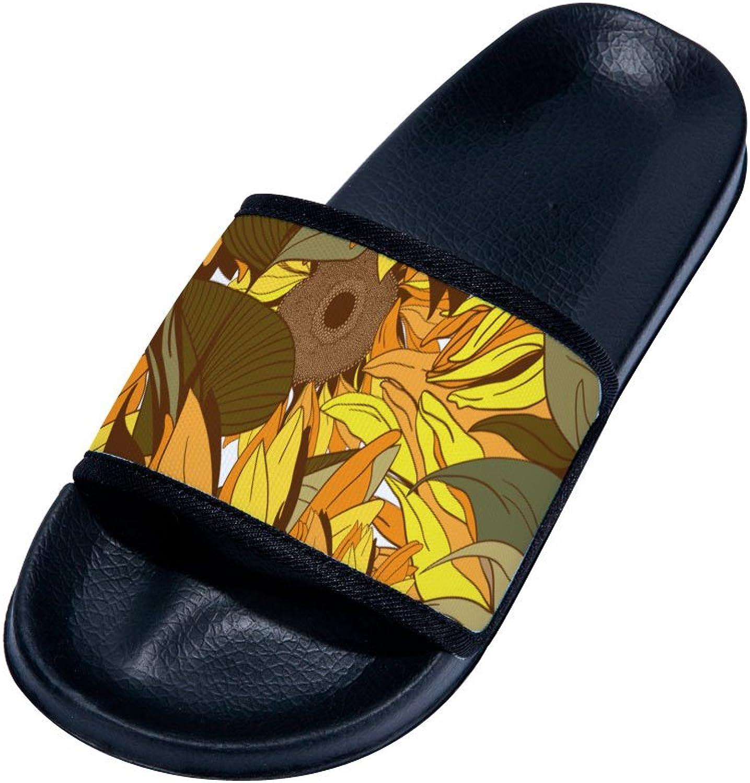 Buteri Sunflower Summer Quick-Drying Non-Slip Slippers