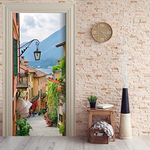 StickerProfis Türtapete selbstklebend TürPoster - See ROMANTIK - Fototapete Türfolie Poster Tapete Meer