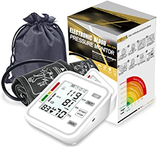 Esfigmomanómetro Electrónico Tipo Brazo, Monitor De Frecuencia Del Pulso Con Transmisión De Voz Con Presión Automática Y Función De Recordatorio De Anormalidad De La Frecuencia Cardíaca De Contracción