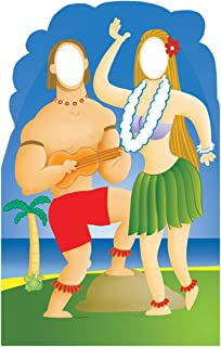 Advanced Graphics Hawaiians with Ukelele Stand-in Life Size Cardboard Cutout Standup
