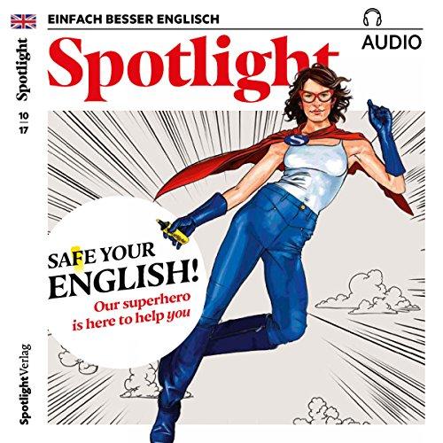 Spotlight Audio - Die Rettung für Ihre Englischkenntnisse. 10/2017 Titelbild