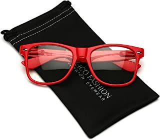 red lens prescription glasses