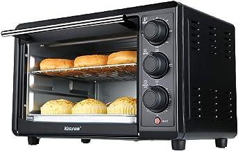 Four électrique 22L, avec plusieurs fonctions de cuisson, gril, contrôle de la température, 100-230 et minuterie de 60 min...