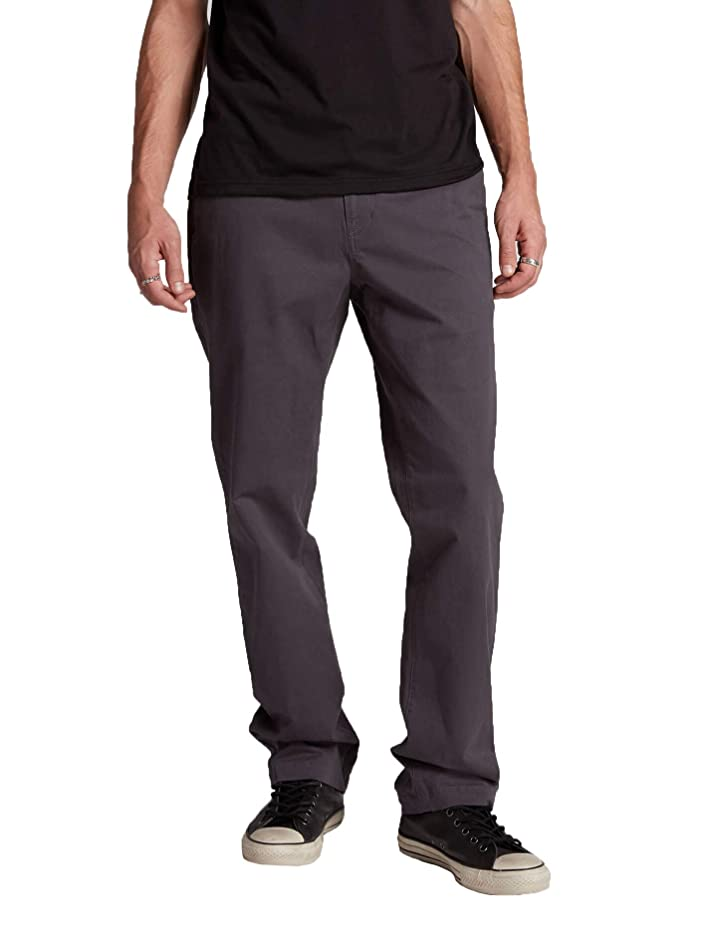 Volcom Men's Frickin Regular Chino Pants w/Cell Phone Pocket