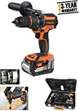 Beta 019720018 - Taladro atornillador percutor 18 V brushless ultra compacto