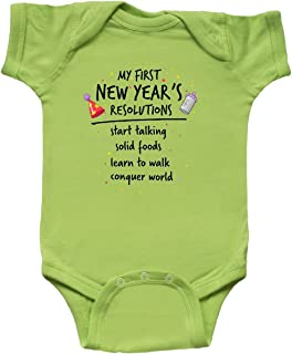 inktastic My First New Year's Resolutions Infant Creeper