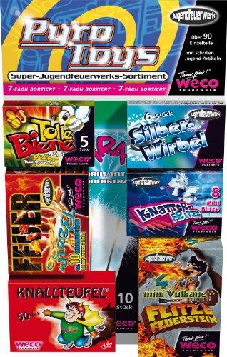WECO Pyro Toys Jugendfreisort. 93 Einzelteile Kat.F1