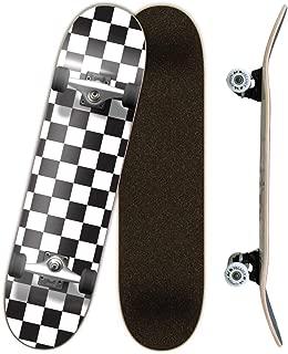Checker Complete Skateboard 7.75