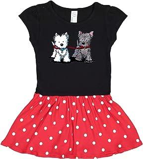 inktastic Walking Buddies Toddler Dress - KiniArt
