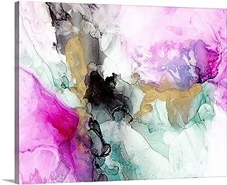 Magenta Expression II Canvas Wall Art Print, 30