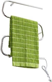 Martll Radiador de toallas Radiador de toallas Radiador de baño de 450 x 600 mm Conexión media Calentador de toallas Radiador de toallas