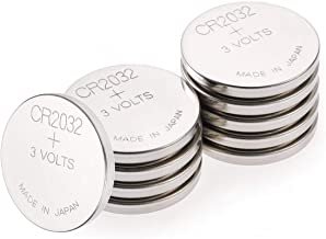 GP Specialty Type 2032 Lithium Coin Battery CR2032/DL2032- Long-lasting Power with High-purity Lithium (Box of 10)