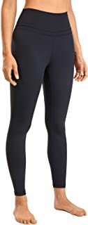 CRZ YOGA Women's Naked Feeling I High Waist Tight Yoga Pants Workout Leggings-25 Inches