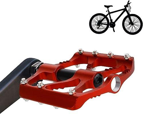 alta calidad HQ's perfect store store store Equipo de Ciclismo 1 par B068 Aluminio plataforma Pedal CNC Acero Eje 9 16 Pulgadas Bicicleta MTB BMX, tamaño  95  92  17 mm Seguro y practico  Para tu estilo de juego a los precios más baratos.