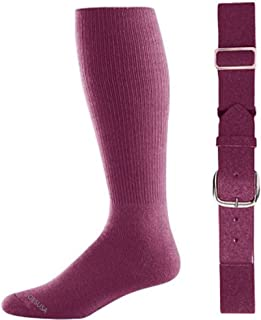 baseball socks maroon