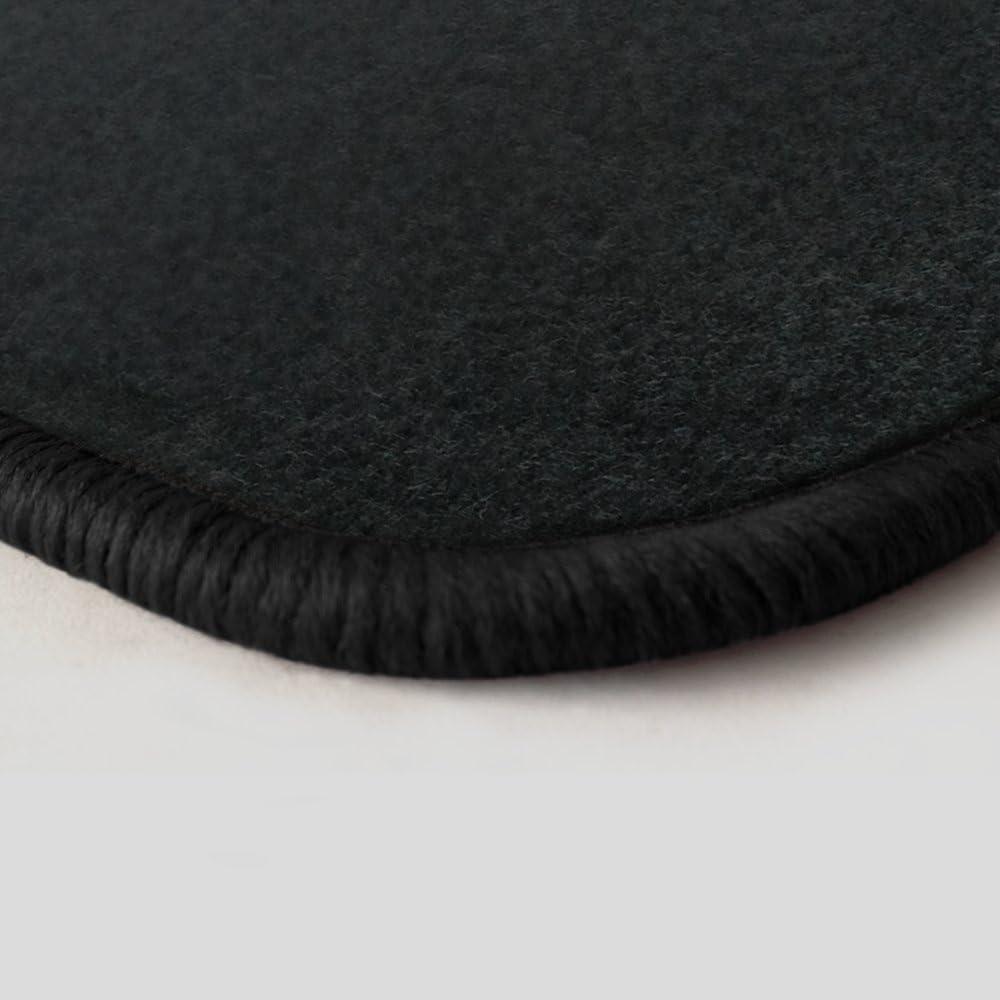 Randfarbe Nach Wahl Passgenaue Fußmatten Aus Nadelfilz Graphit Mit Dunkelgrauem Rand 501 Auto