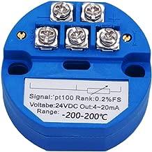TWTADE / -200~200 Celsius RTD PT100 SBW Temperature Sensor Temperature Transmitter Isolated Detector Module -200~200 Degree - 4-20MA