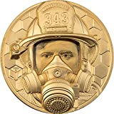 Power Coin Firefighter Real Heroes 1 Oz Moneda Oro 250$ Cook Islands 2021