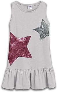 VIKITA(ヴィキタ) 子供女の子 ドレス 綿 スパンコール柄 ノースリーブ 夏ワンピース 80-140cm
