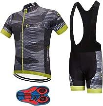 XSG305 New Outfits Road Mens MTB Cycling Short Sleeve Jersey and bib Shorts