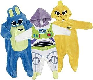 Disney Kit 3 Mamelucos Bebo Tipo Disfraz