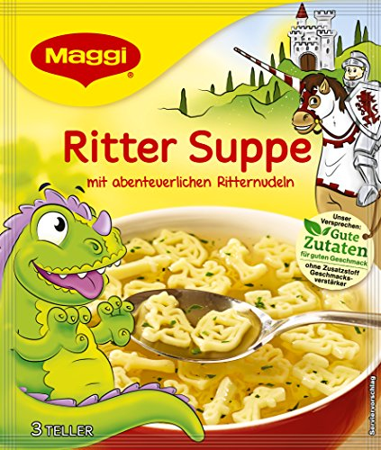 Maggi Guten Appetit Suppe Ritter Suppe, 16er Pack (16 x 53 g)