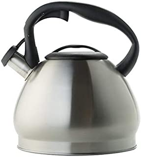 Primula PTKST-6630 Tall 3 Qt. Stainless Steel Whistling Kettle - Satin