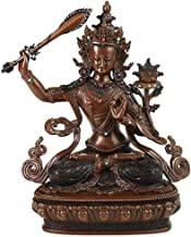 PPCP Decorative Brass Sculptures, Manjushri Buddha Statues, Buddhist Temple Decorations, Desktop Study Ornaments, Symbols ...