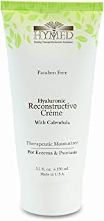 Hylunia Hyaluronic Reconstructive Creme with Calendula - 5.1 fl oz - Eczema and Psoriasis Therapy - Rapid Skin Repair