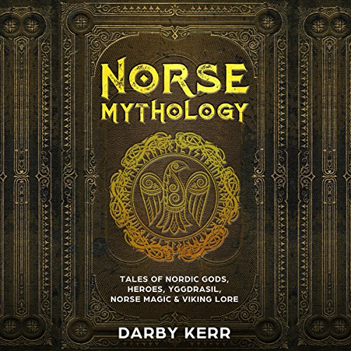 Norse Mythology audiobook cover art