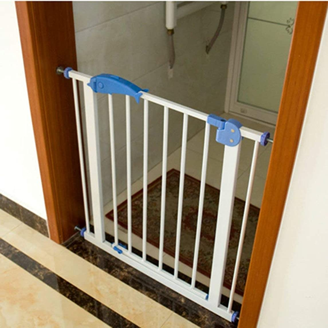 Pet Isolation Door Child Safety Gate Baby Stair Barrier Kitchen Fence Baby Railings Top of Stairs Baby Gate